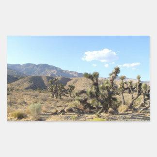 Mojave Desert scene 06 Rectangular Sticker