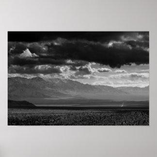 Mojave Desert Storm Poster