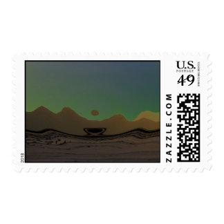 Mojave Morn Stamp