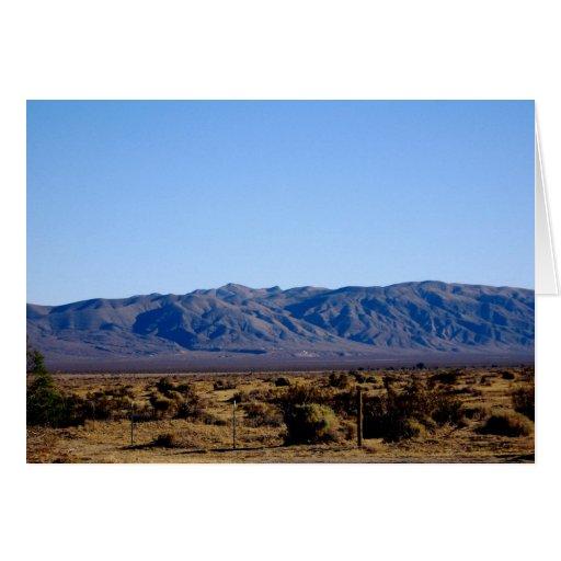 Mojave Morning Card
