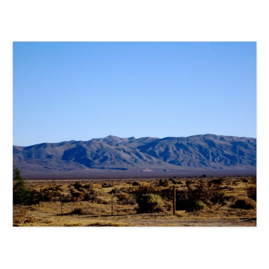 Mojave Morning Postcard