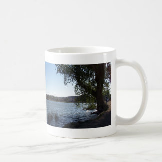 Mojave Narrows Lake Coffee Mug
