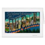 Mojave Nat'l Preserve, California Greeting Card