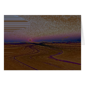 Mojave Sunrise Card