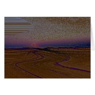 Mojave Sunrise Card