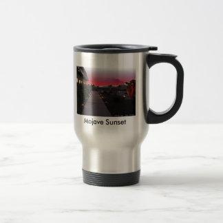 Mojave Sunset, Mojave Sunset Coffee Mugs