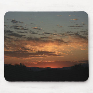 Mojave sunset mouse pad