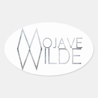 Mojave Wilde Oval Sticker