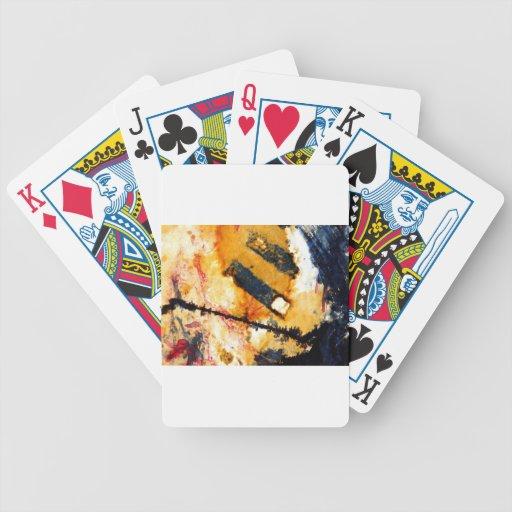 moje el palillo del partido baraja de cartas