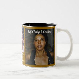 MOJI 1, MOJI 1, mojisola gbada, Moji's Design &... Two-Tone Coffee Mug
