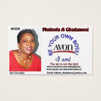 MOJISOLA A GBADAMOSI(APOPKA AVON REPRESENTATIVE) BUSINESS CARD