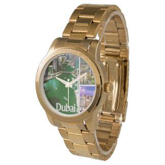 MOJISOLA A GBADAMOSI  Gold Bracelet Wrist Watch