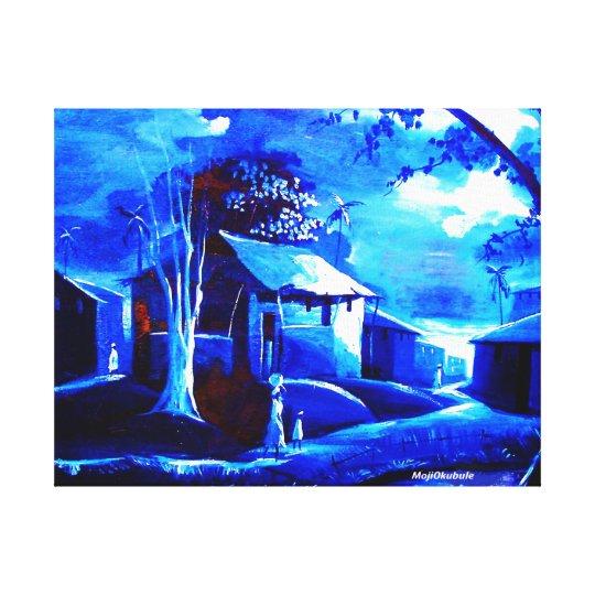 MOJISOLA A GBADAMOSI OKUBULE OIL ON Canvas