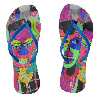 Mojisola GbadamosiAdult, Slim Straps, Womens 8/9 Flip Flops