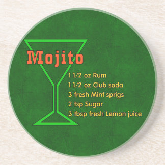 Mojito Coaster