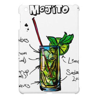 Mojito Cocktail Recipe iPad Mini Cases