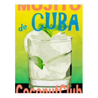 Mojito De Cuba Postal