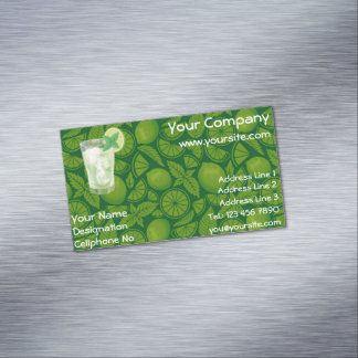 Mojito Magnetic Business Card