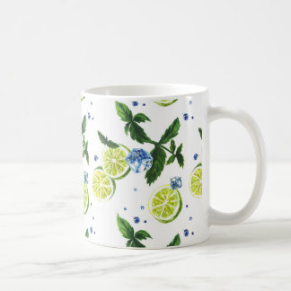 Mojito pattern. coffee mug