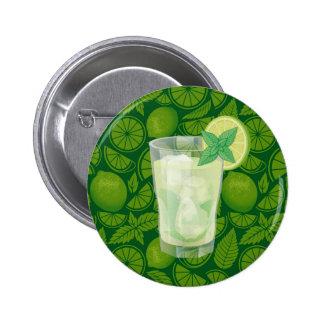 Mojito Pinback Button