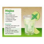 Mojito Recipe Card Postcard