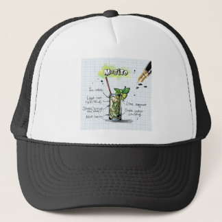 Mojito Recipe - Cocktail Gift Trucker Hat