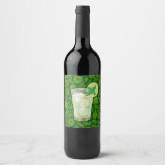 Mojito Wine Label