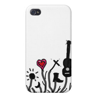 Mojo Blossom Covers For iPhone 4