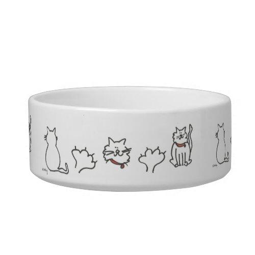 Mojo Cats Pet Bowl