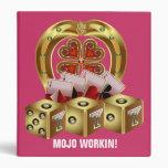 Mojo Fast Luck 3 Ring Binder