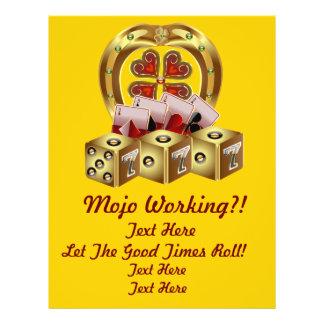 Mojo Fast Luck  Mojo Workin! Flyer
