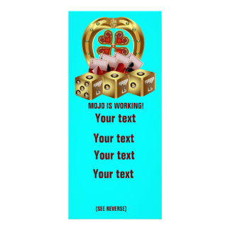 Mojo Fast Luck Rack Card