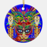 Mojo for your Car Priestess Witch Doctor V-Notes Christmas Tree Ornaments