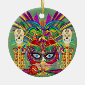 Mojo for your Car Priestess Witch Doctor V-Notes Christmas Ornaments