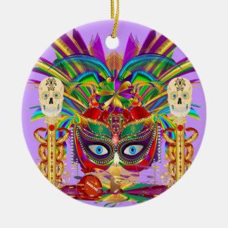 Mojo for your Car Priestess Witch Doctor V-Notes Ornament
