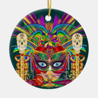 Mojo for your Car Priestess Witch Doctor V-Notes Christmas Tree Ornament