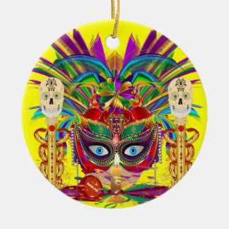 Mojo for your Car Priestess Witch Doctor V-Notes Ornaments