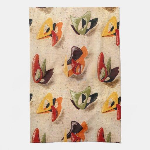 MoJo Kitchen Towel : AMOEBA 1 - COPPER KETTLE