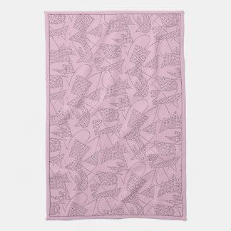 MoJo Kitchen Towel: ATOMIC BOOMERANG - PINK FLOYD