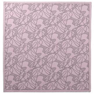 MoJo Napkin Set Of 4 : CONTEMPO - PINK FLOYD
