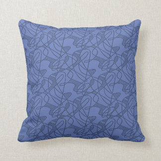 MoJo Pillow : CONTEMPO - MIDNIGHT BLUE Two-Tone