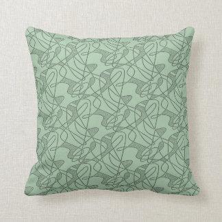 MoJo Pillow : CONTEMPO - SEAFOAM GREEN Two-Tone