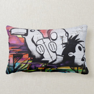 Mojo Throw Pillow. By Frank Mothe. 2014