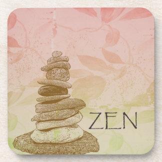 Mojón del zen posavaso