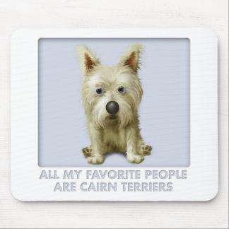Mojón Terrier 1 favorito Tapetes De Ratones