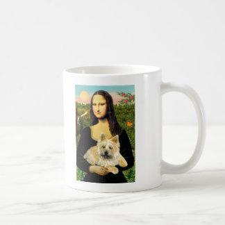 Mojón Terrier 23 - Mona Lisa Taza De Café