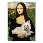 Mojón Terrier 4 - Mona Lisa Felicitacion