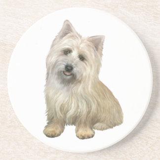 Mojón Terrier (4b) Posavasos Diseño