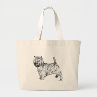 Mojón Terrier Bolsa Tela Grande