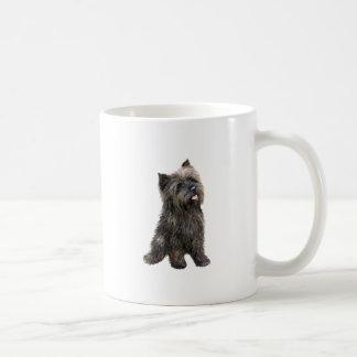 Mojón Terrier - brindle Taza De Café